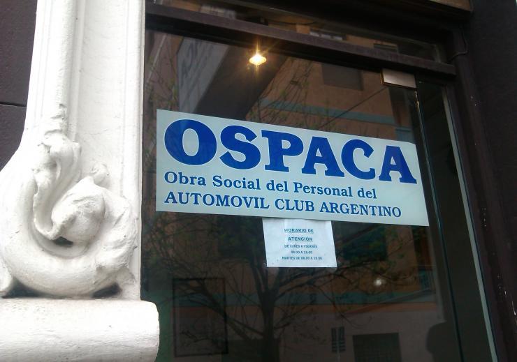 Sucursal de OSPACA Obra Social del Personal del Automóvil Club Argentino