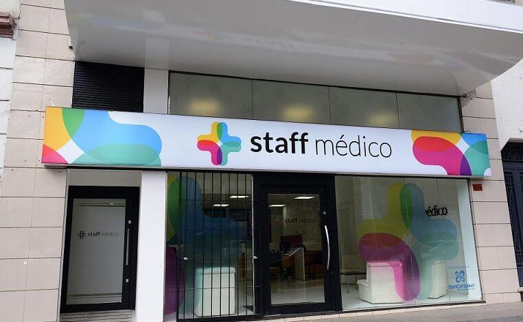 Oficinas de Staff Médico en Mendoza, parte del Grupo SanCor Salud