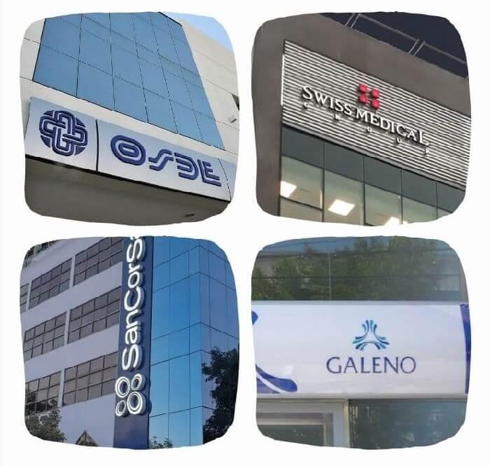 Comparamos los planes 210 de Osde, SMG 30 de Swiss Medical, 220 de Galeno y 3000 de Sancor Salud