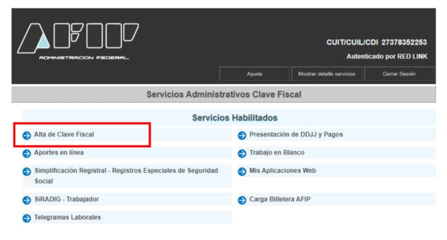 Generá tu Clave Fiscal 2 desde home banking